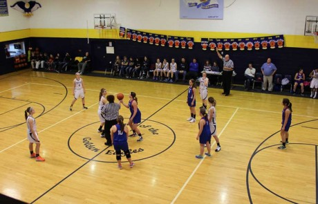 Girls tip off against CPRS