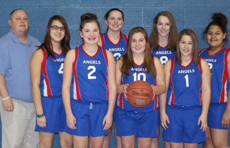 Girls basketball 2014